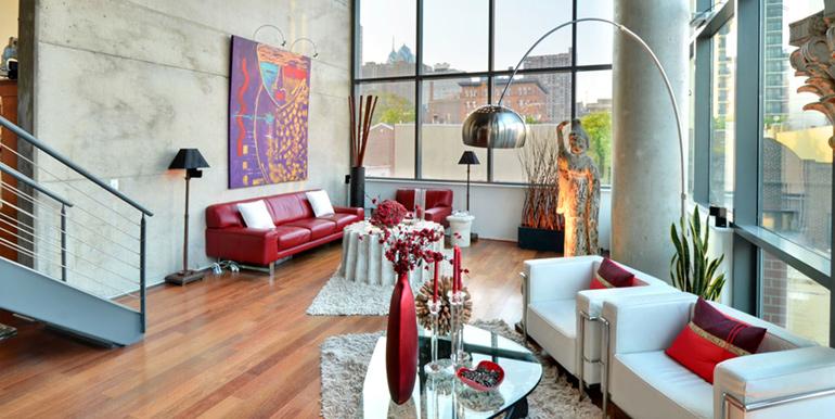 ... 1352 Lofts Living Room ...