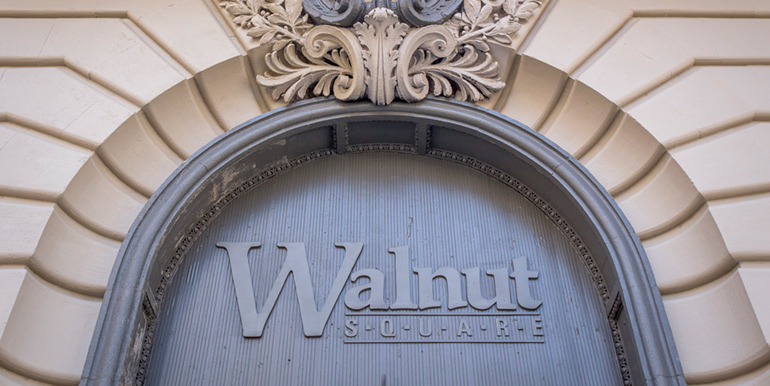 Walnut Square Entrance