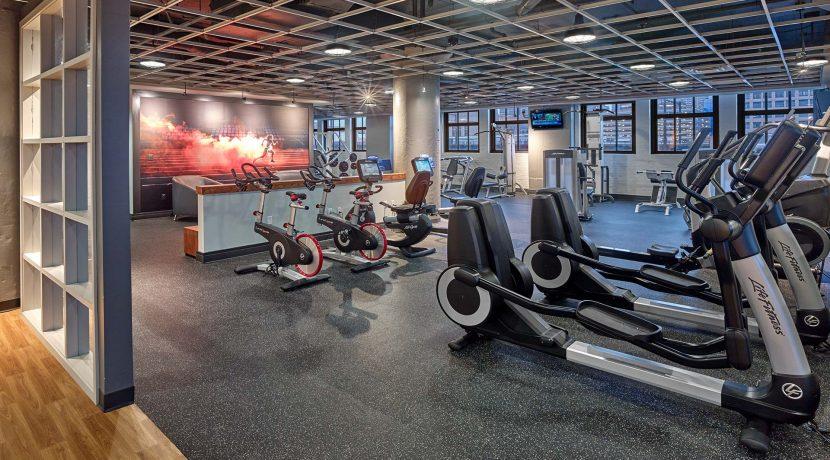 Left Bank fitness centre