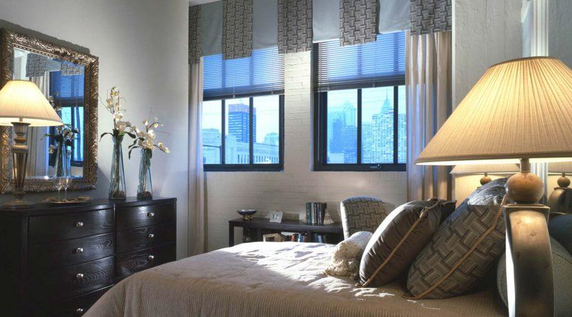 Left Bank bed room