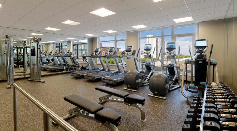 Southstar Lofts fitness center