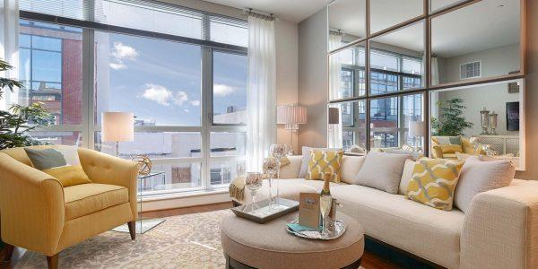 Southstar Lofts living room