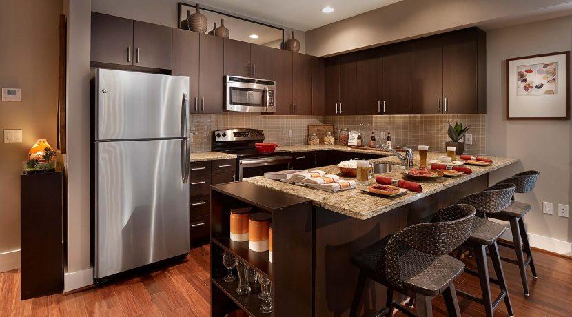 Southstar Lofts kitchen