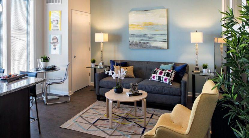 1200 Washington_Living Room